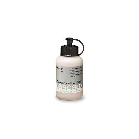 Lascaux Transparent Varnish 2 UV, водно-акриловый лак с UV фильтром, матовый, 85 мл