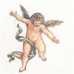 """Орнамент """"Ангел, смотрящий вниз"""" 32 х h39,5 см"""