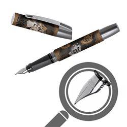 Перьевая ручка Campus Tiger Brush, для левшей