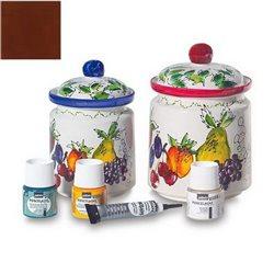 Краска по фарфору Pebeo Porcelaine (150*C) 45мл /Гаванский коричневый