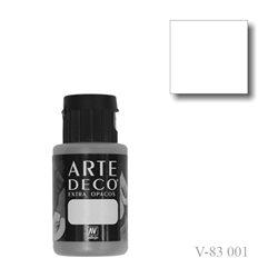 Белила 001 ArteDeco, акриловая декоративная краска
