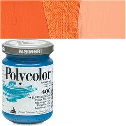 Краска акриловая Поликолор оранжевый яркий