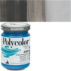 Краска акриловая Поликолор черный слюдяной