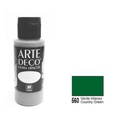 Патинирующая краска ArteDeco /560/Деревенский зеленый глазурь