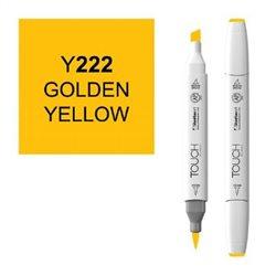 Маркер TOUCH BRUSH 222 золотистый желтый Y222