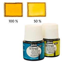 Краска лаковая по стеклу и металлу Pebeo Vitrail/Песочный 45 мл