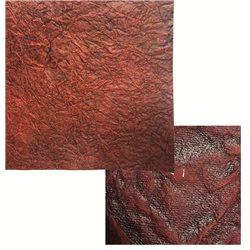 Бумага имитация мятой кожи 250 г/м2 50 х 70 / КРАСНЫЙ ТЕМНЫЙ