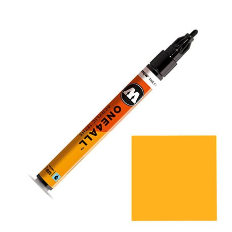 Маркер Molotow 127HS One4ALL Неоновый оранжевый флуо 2 мм