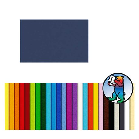 Картон цветной 70*100 Ночной голубой / 300 гр/м
