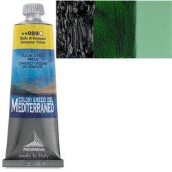 "Краска масляная ""Mediterraneo"" / Зеленый обсидиан Пантеллерии"