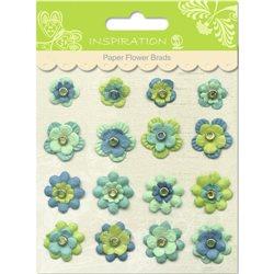 Брадс бумажные цветы мотив 08
