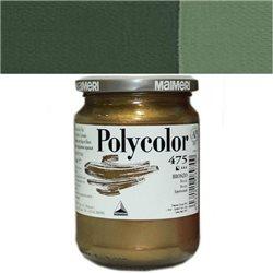 Краска акриловая Поликолор серо-зеленый