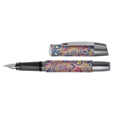 Перьевая ручка Campus Bamboo Flowers, перо М