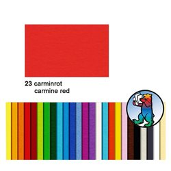 Картон цветной 70*100 Кармин красный / 300 гр/м
