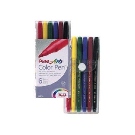 Фломастеры Color Pen 6 шт.