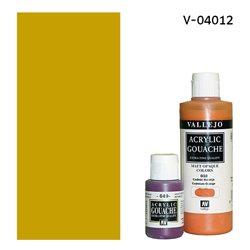 Гуашь-темпера Vallejo/Охра желтая светлая
