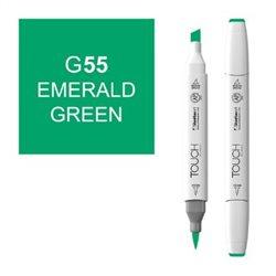 Маркер TOUCH BRUSH 055 светлый изумрудный зеленый G55