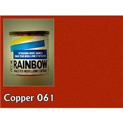 Rainbow металлик медь, 17мл