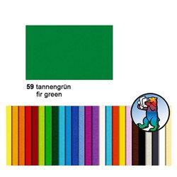 Картон цветной 50*70 Зеленый еловый / 300 гр/м