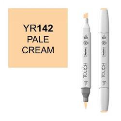 Маркер TOUCH BRUSH 142 бледный кремовый YR142
