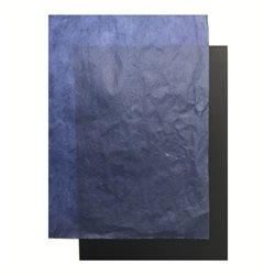 "Бумага ""Тутовая"" 25 г/м2 50 х 70 см ,синий темный"