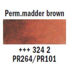 "Краска аквар.""Рембрандт"" / марена коричневый перманент"