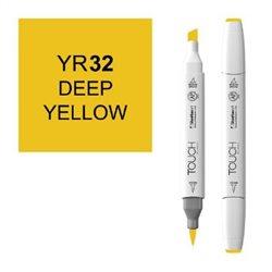 Маркер TOUCH BRUSH 032 глубокий желтый YR32