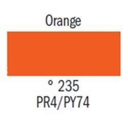 Гуашь худ. оранжевая