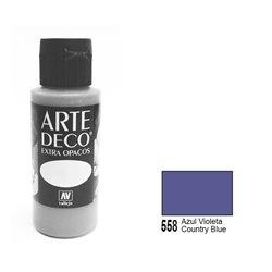 Патинирующая краска ArteDeco /558/Деревенский голубой глазурь