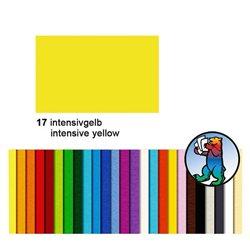 Картон цветной 70*100 Интенсивный желтый / 300 гр/м