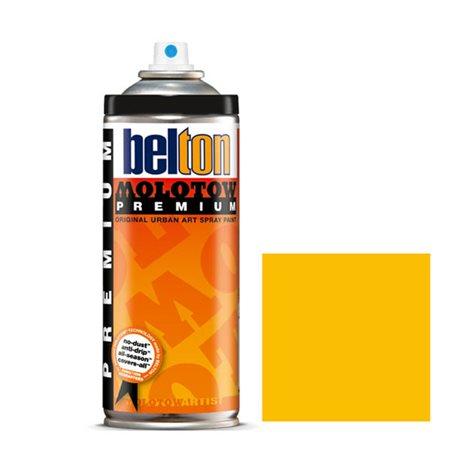 Аэрозоль Belton Molotow Premium 009 Золотисто желтый 400 мл