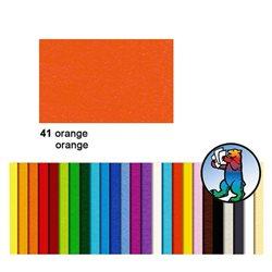 Картон цветной 50*70 Оранжевый / 300 гр/м