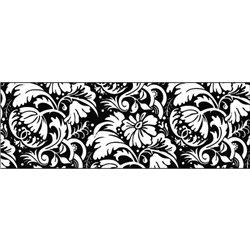 """Бумага Прозрачная 115г/м2 А4 """"Черное & Белое"""" Цветочный орнамент"""