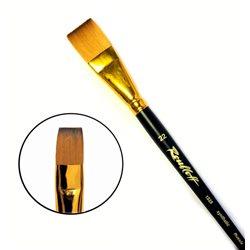 Кисть синтетика плоская №22 кор. ручка колонок имит. Roubloff 1S25