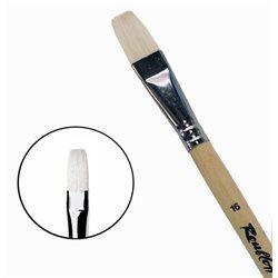 Кисть синтетика+щетина плоская №16 удл.ручка Roubloff 1М22