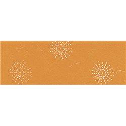 Бумага с объемным блестками 50х70 /Цветочная фантазия, 100 г/м
