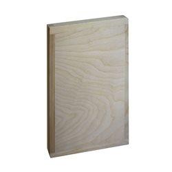 Планшет двухсторонний обшитый деревом ( доска ) 55х39 см