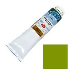 """Краска масляная Виридоновая зеленая """"Ладога"""" 120мл."""