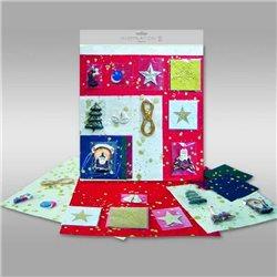 """Набор для декорирования открыток. """"Рождество"""""""