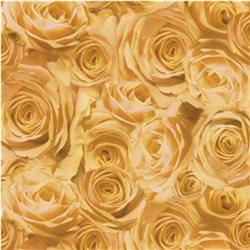 """Бумага для Scrapbooking, калька, 30,5х30,5см, 5 листов, """"Розы"""", Абрикосовый"""
