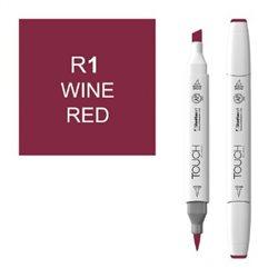 Маркер TOUCH BRUSH 001 красное вино R1