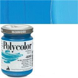 Краска акриловая Поликолор циан синий основной