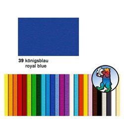 Картон цветной 50*70 Королевский синий / 300 гр/м