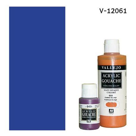 Гуашь-темпера Vallejo/Ультрамарин синий темный