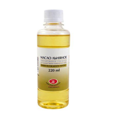 Масло льняное рафин. отбеленное/ЗХК/220мл