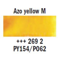 "Краска аквар.""Рембрандт"" / желтый средний AZO"