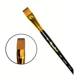 Кисть синтетика плоская №16 кор. ручка колонок имит. Roubloff 1S25