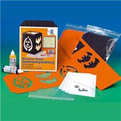 """Комплект для изготовления фонарика 13,5х18 см, цвет оранжевый,""""Хеллуин"""""""