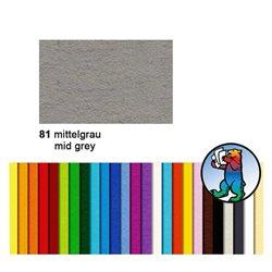 Картон цветной 50*70 Серый средний / 300 гр/м