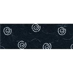 Бумага с объемным блестками 50х70 Спирали/100 г/м